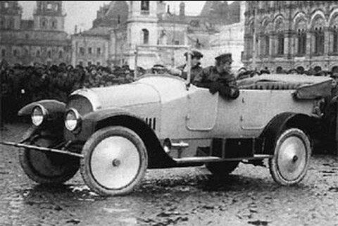 """Первый советский легковой автомобиль """"Промбронь"""" БТАЗ-1"""