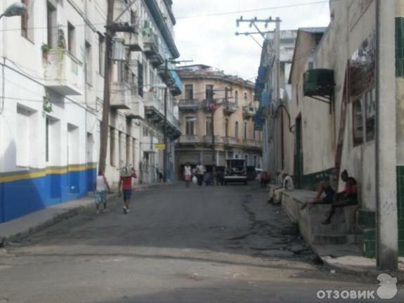 Урбанистический пейзаж современной Кубы
