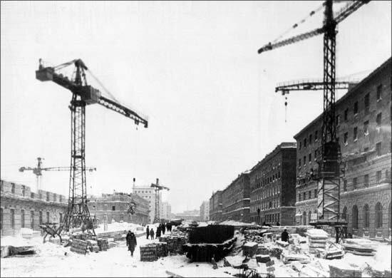 Строительство Норильска, фото 1935 г.