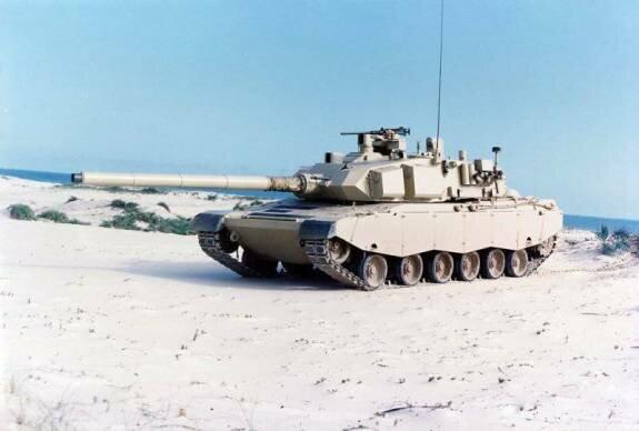 Бразильский танк «Озорио»