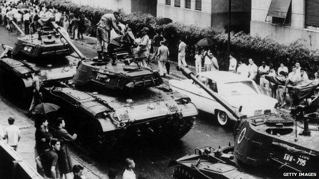 танки в Бразилиа