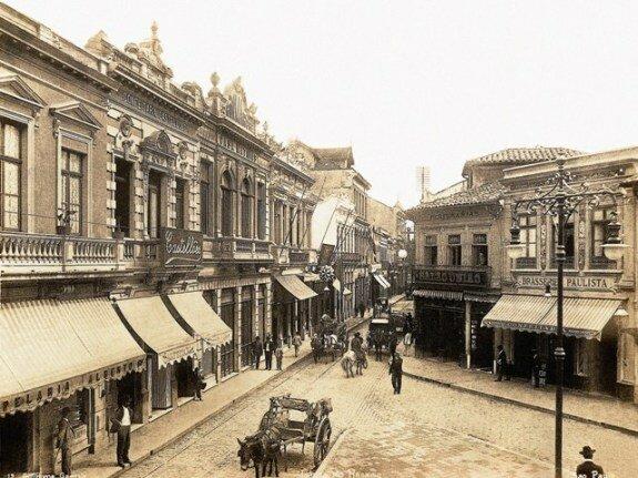 Центр Сан-Паулу. Фото: 1900 г.