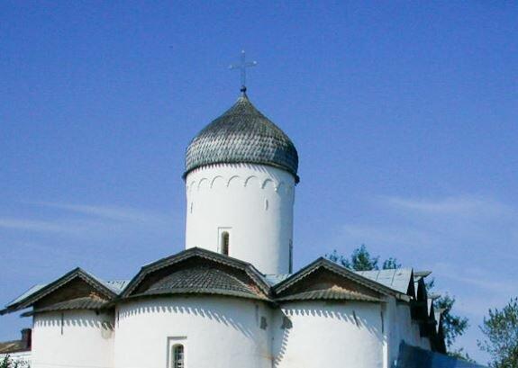 Церковь Жён Мироносиц. Новгород. 1510 г. «Лемеховое» покрытие купола