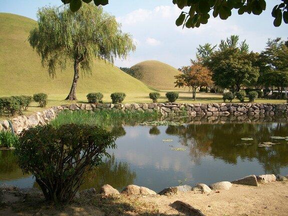 В национальном парке Кёнчжу