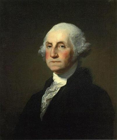 Портрет Д. Вашингтона, худ. Г. Стюарт, 1797, Художественный институт Кларка, Уильямстаун, Массачусетс, США