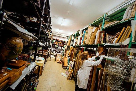 Вещи, принадлежавшие Броз Тито сейчас находятся в запасниках Белградского музея югославской истории