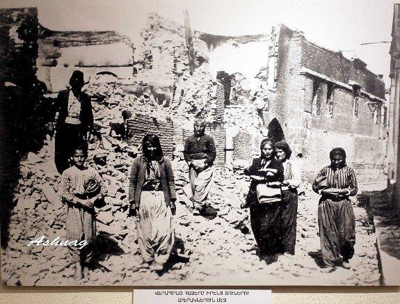 армяне, выжившие после погромов в Киликии