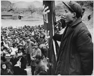 выступление Мао перед сторонниками