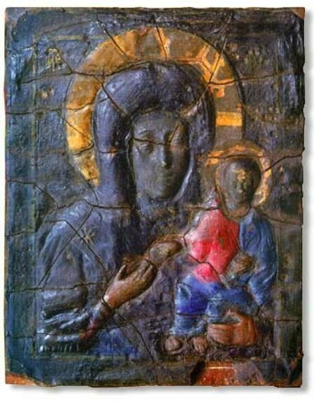 Влахернская икона Божией Матери из церкви с. Влахернского