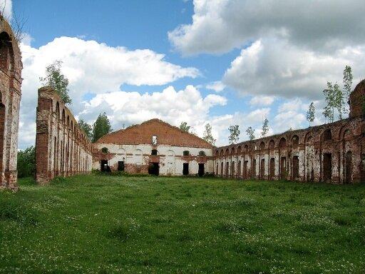 Руины военных поселений в Нижегородской области