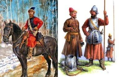 Русские воины ''нового строя'' – рейтар и пикинеры