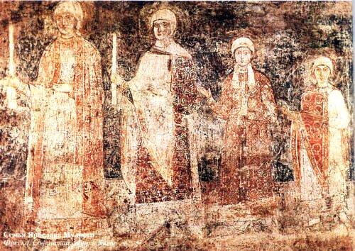 фреска семья Ярослава Мудрого