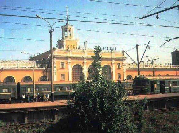 вокзал в г. Ярославле
